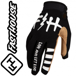 Gants FASHOUSE Speedstyle LETLIVE black