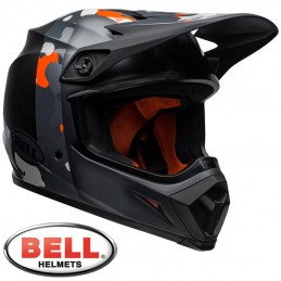 Casque BELL MX-9 MIPS Presence camo orange