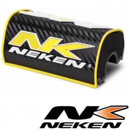 Mousse de guidon 28,6mm NEKEN Carbone-jaune