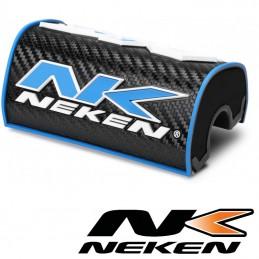 Mousse de guidon 28,6mm NEKEN Carbone-bleu