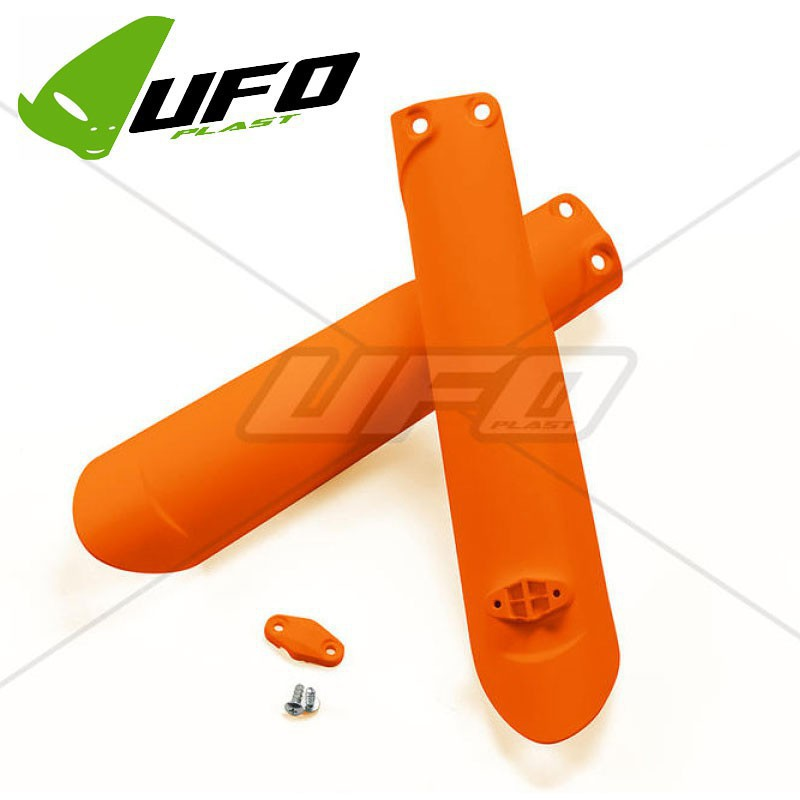 Protections de fourche oranges SXF 350