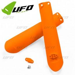 Protections de fourche oranges fluo SXF 350