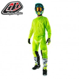 Tenue Troy Lee Designs GP AIR 50/50 Flo yellow