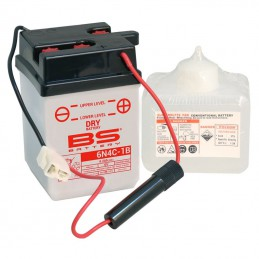 Batterie BS 6N4C-1B + pack acide