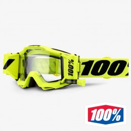 Masque 100% ACCURI Forecast Néon Yellow