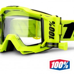 Masque 100% ACCURI Forecast Yellow