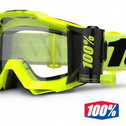 Masque 100% ACCURI Forecast Yellow-black