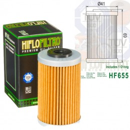 Filtre à huile HUSQVARNA 501 FE