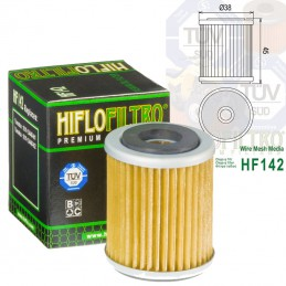 Filtre à huile HIFLOFILTRO 250 TTR