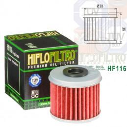 Filtre à huile HIFLOFILTRO HF116