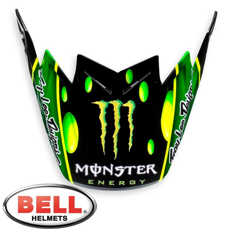Visière BELL MOTO 9 FLEX MONSTER Mc Grath