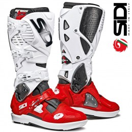 Bottes SIDI CROSSFIRE 3 SRS White-Red