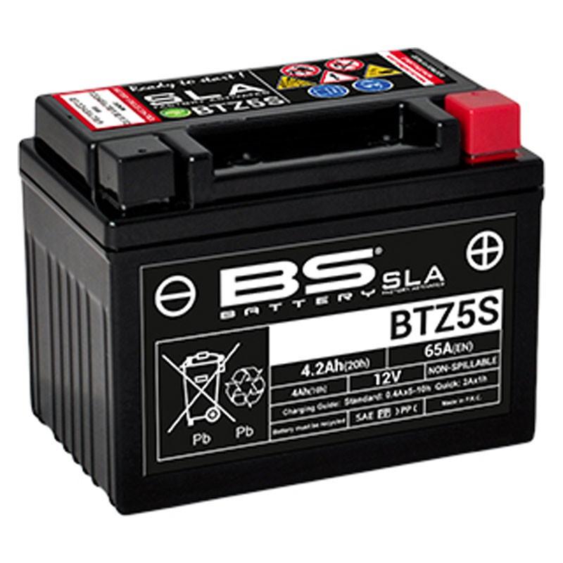 Batterie BS BTZ5S SLA Activée Usine