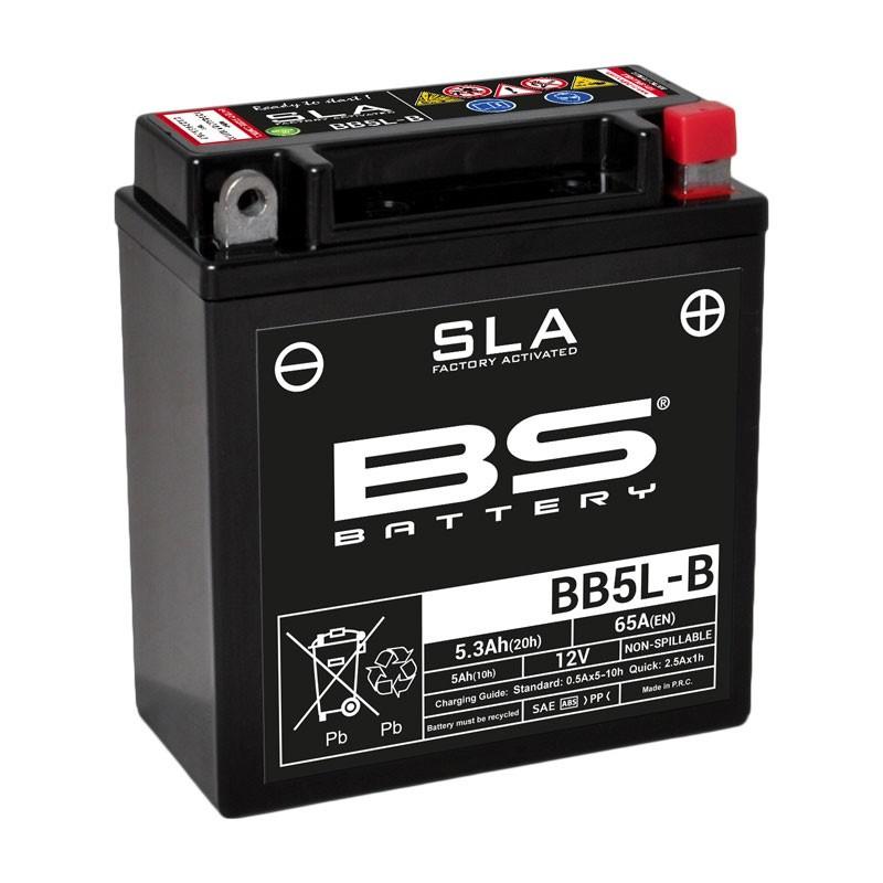 Batterie BS BB5L-B SLA activée usine