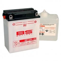 Batterie BS BB12AL-A2 + pack acide