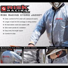 Veste de pluie transparente RISK