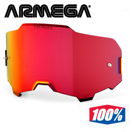 Ecran iridium hiper red anti-buée 100% ARMEGA