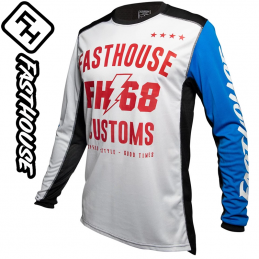 Maillot FASTHOUSE WORX 68 white