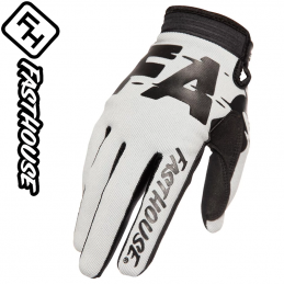 Gants FASHOUSE Speedstyle TURBO silver