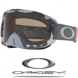 Masque OAKLEY O2 MX Troy Lee Designs Low Vis