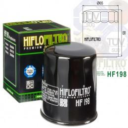 Filtre à huile HIFLOFILTRO HF198 Polaris