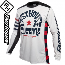 Maillot FASTHOUSE FUNKHOUSE white