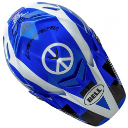 Casque BELL MOTO 9 FASTHOUSE DID Blue 2020