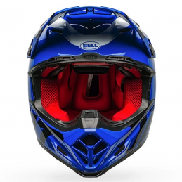 Casque BELL MOTO 9 FASTHOUSE Blue-White