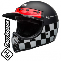 Casque BELL MOTO 3 FASTHOUSE Checkers