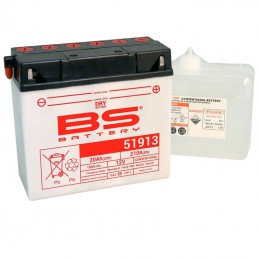 Batterie BS 51913 + pack d'acide