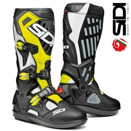 Bottes SIDI ATOJO SRS Black-White-Yellow
