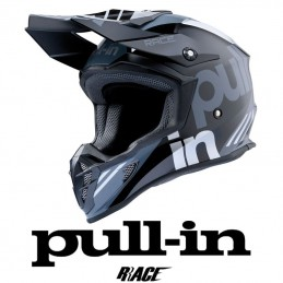 Casque PULL IN RACE Grey-Silver