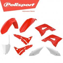 Kit plastique POLISPORT Restyling Rouge 125 CR