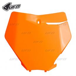 Plaque numéro avant 350 SXF orange