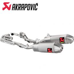 Ligne AKRAPOVIC EVOLUTION 250 CRF 2018-2020