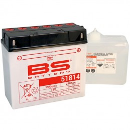Batterie BS 51914 + pack d'acide