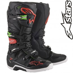 Bottes ALPINESTARS TECH 7 Black-Red-Green