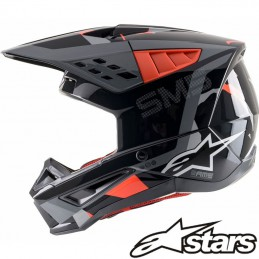 Casque ALPINESTARS ROVER S-M5 Black-Red-Gray