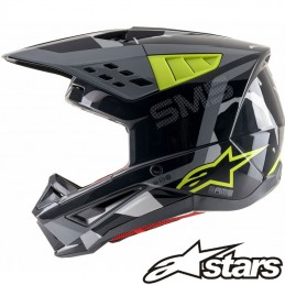 Casque ALPINESTARS ROVER S-M5 Black-Yellow-Gray