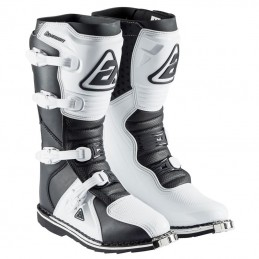Bottes enfant ANSWER AR1 White-Black