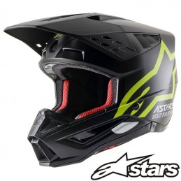 Casque ALPINESTARS S-M5 COMPASS Black-Yellow