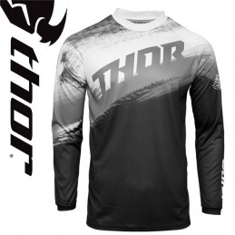 Maillot THOR SECTOR Black-White