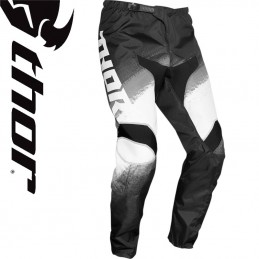Pantalon THOR SECTOR Black-White