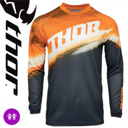 Maillot enfant THOR SECTOR Orange-Midnight