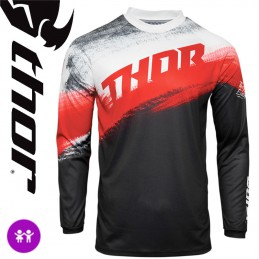 Maillot enfant THOR SECTOR Red-Black