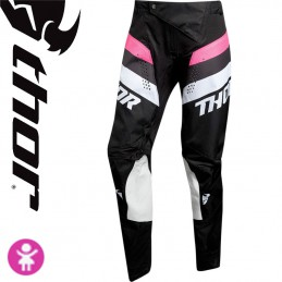 Pantalon fille THOR PULSE Pink-Black