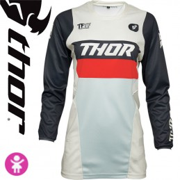 Maillot fille THOR PULSE White-Midnight