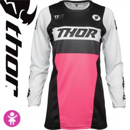 Maillot fille THOR PULSE Pink-Black