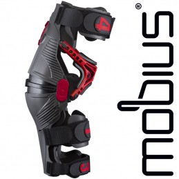 Genouillères MOBIUS X8 Grey-Red