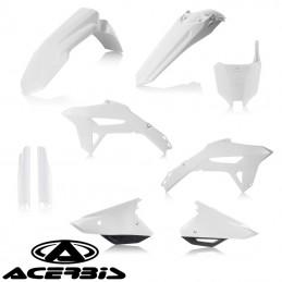 Kit plastique complet ACERBIS 450 CRF blanc